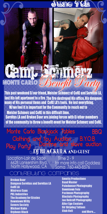 schmerz flyer copy